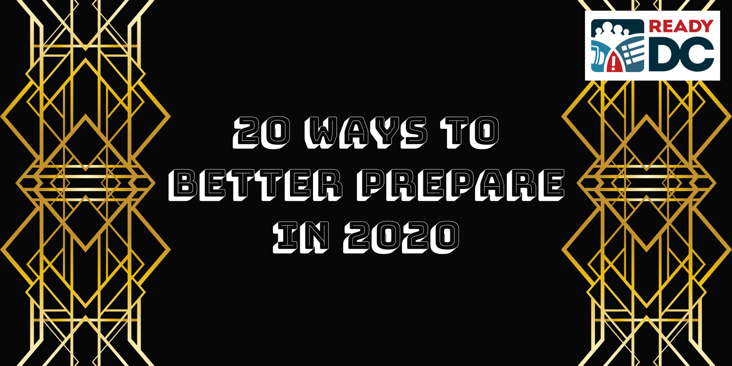 20 ways to better prepare in 2020